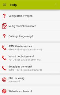 ASN Mobiel Bankieren- screenshot thumbnail