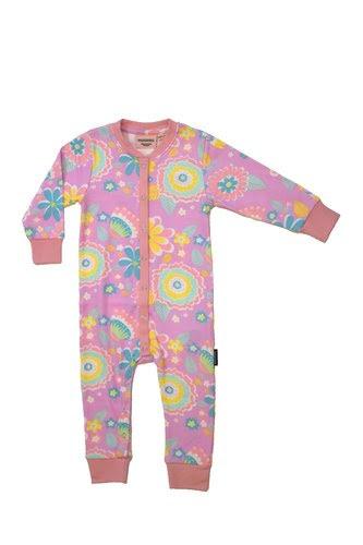 Moromini - Pyjamas Mumbai flower market pink