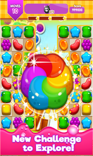Candy Gummy Match 3 2017 for PC-Windows 7,8,10 and Mac apk screenshot 1