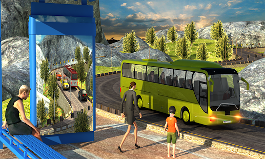 Offroad Bus - Coach Driving 3D - náhled
