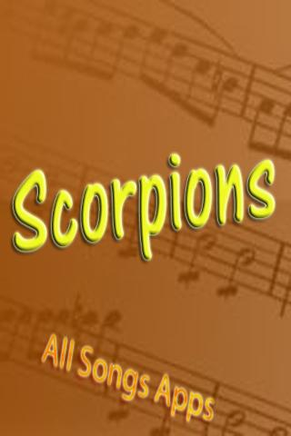 All Songs of Scorpions