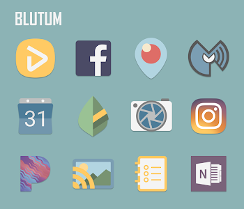 Blutum - Icon Pack 1.0.4 (Patched)
