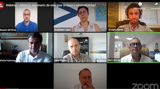 Webinar de LA VOZ: 'Almería, escenario de energías limpias y sostenibilidad'
