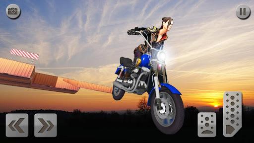 impossible rampe moto vu00e9lo cavalier super-hu00e9ros  captures d'u00e9cran 7