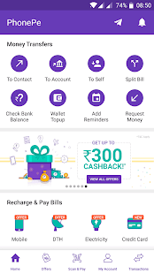 PhonePe – UPI Payments, Recharges & Money Transfer Screenshot