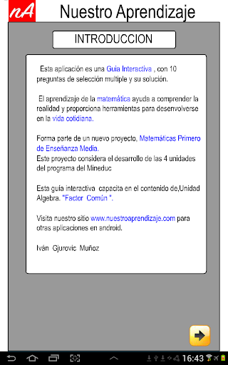 Factor Comu00fan, Factorizaciu00f3n 1.0.0 screenshots 2