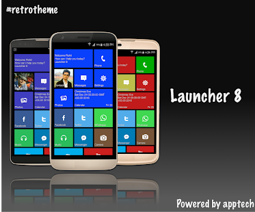 Launcher 8 Metro Style Screenshot