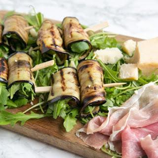 Eggplant Roll-Ups with Grana Padano Cheese and Prosciutto Di San Daniele Recipe
