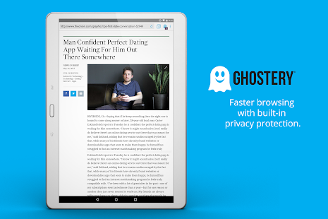 Ghostery Privacy Browser- screenshot thumbnail