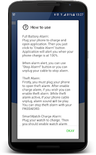 Full Battery & Theft Alarm App Download For Android 7