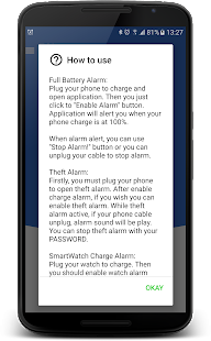 Full Battery & Theft Alarm- screenshot thumbnail