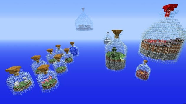 world in a jar maps for mcpe poster
