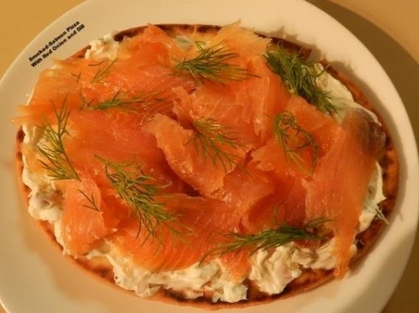 Smoked-salmon Pizza With Red Onion And Dill Recipe