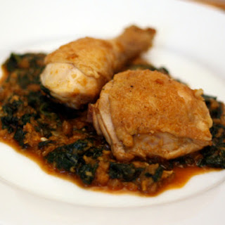 Chicken with Spinach.