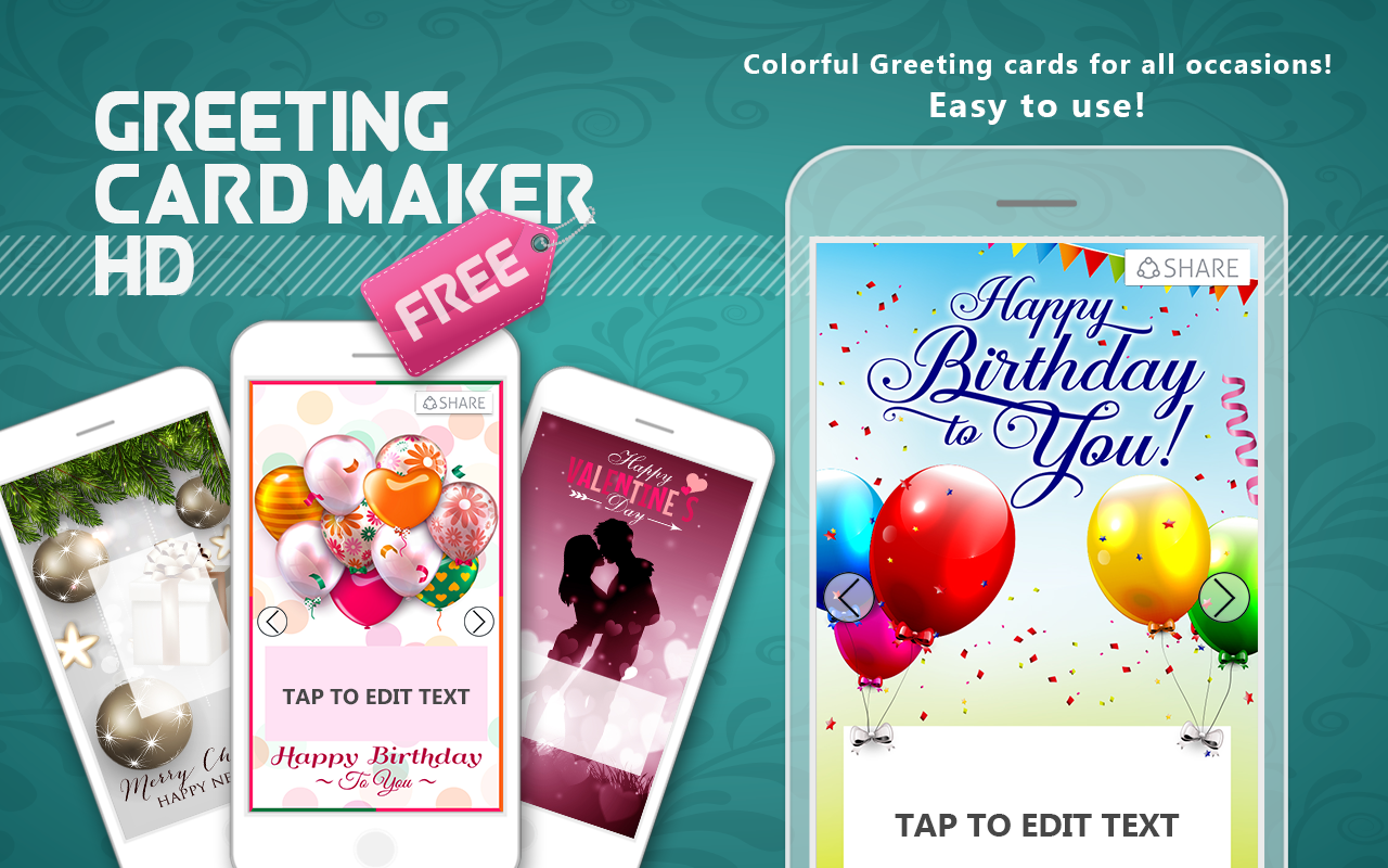Greeting Card Maker Free HD Android Apps on Google Play – Birthday Card Maker Free