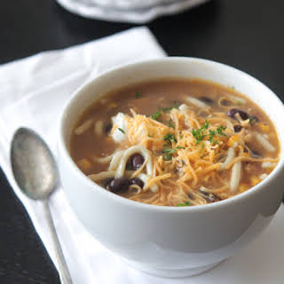 Mexican Style Chicken Noodle Soup.