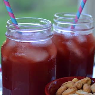 Cherry Limeade Cocktail.