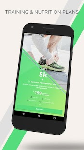 mobiefit RUN 5K, 10K, Marathon Training, Diet Plan - náhled