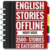 English Stories Offline - Night Mode 2500+ Stories