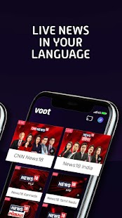 Voot - Watch Colors, MTV Shows, Live News & more Screenshot