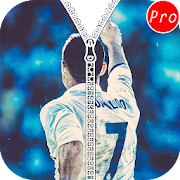 Ronaldo Zipper Lock Screen icon