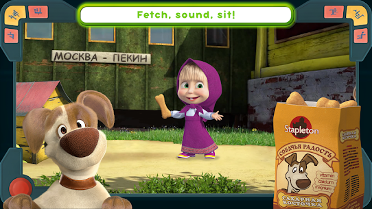 Masha and the Bear Mod Apk: We Come In Peace! (No Ads) 1.0.3 2