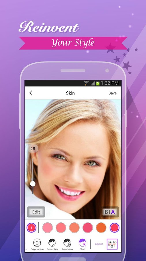 Perfect365: One-Tap Makeover- screenshot