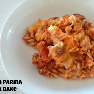 Chicken Parma Pasta Bake