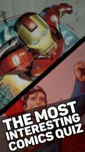 Quiz for Comics Fans - náhled