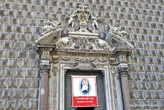 Photo: Napels. Chiesa del Gesù Nuovo.