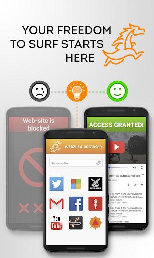 Webzilla Fast Safe Browser