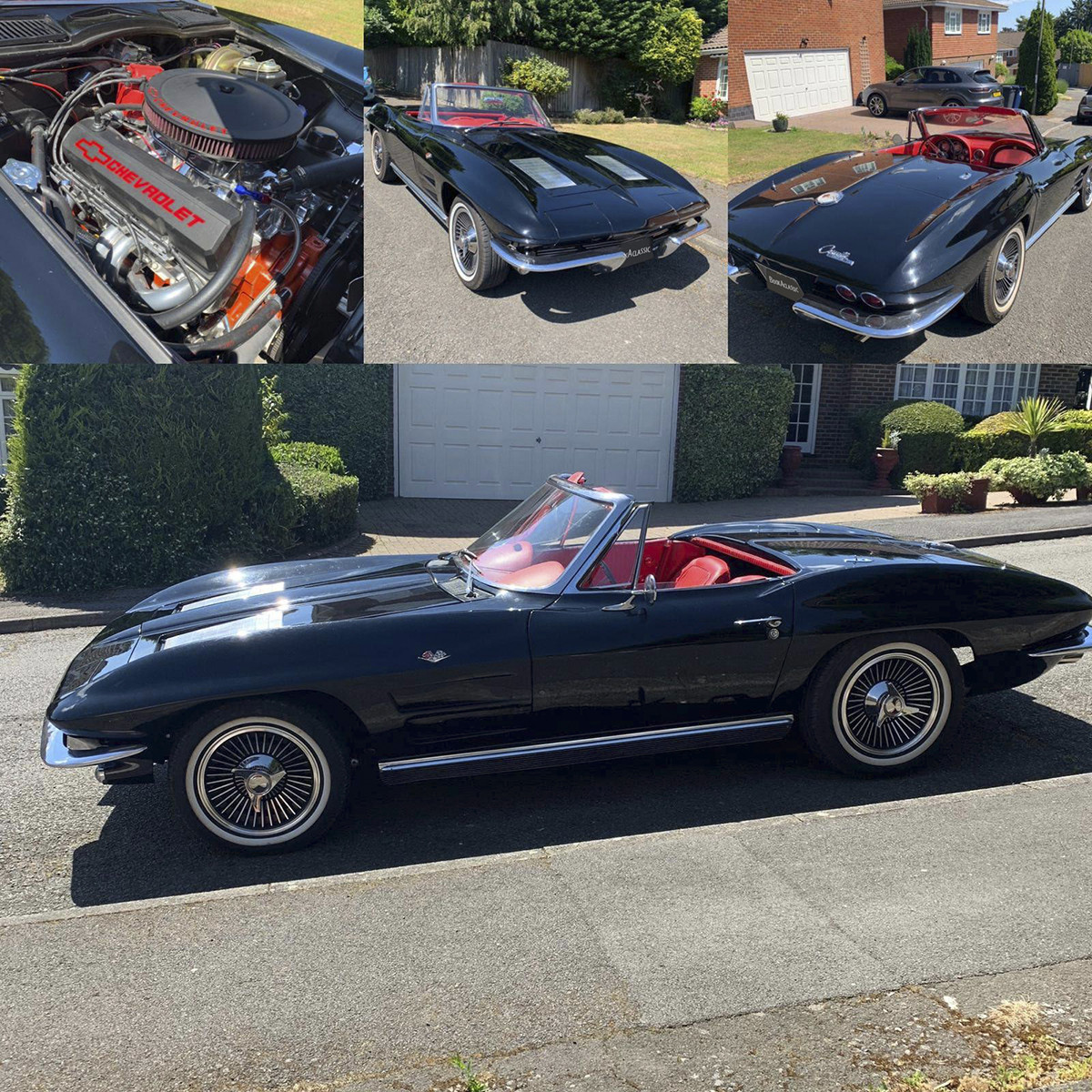 Chevrolet Corvette Stingray Hire London