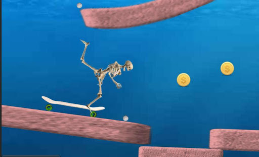 Skeleton Ragdoll, Skater 1.20 screenshots 3