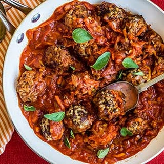 Beef and Rice Meatballs Recipe