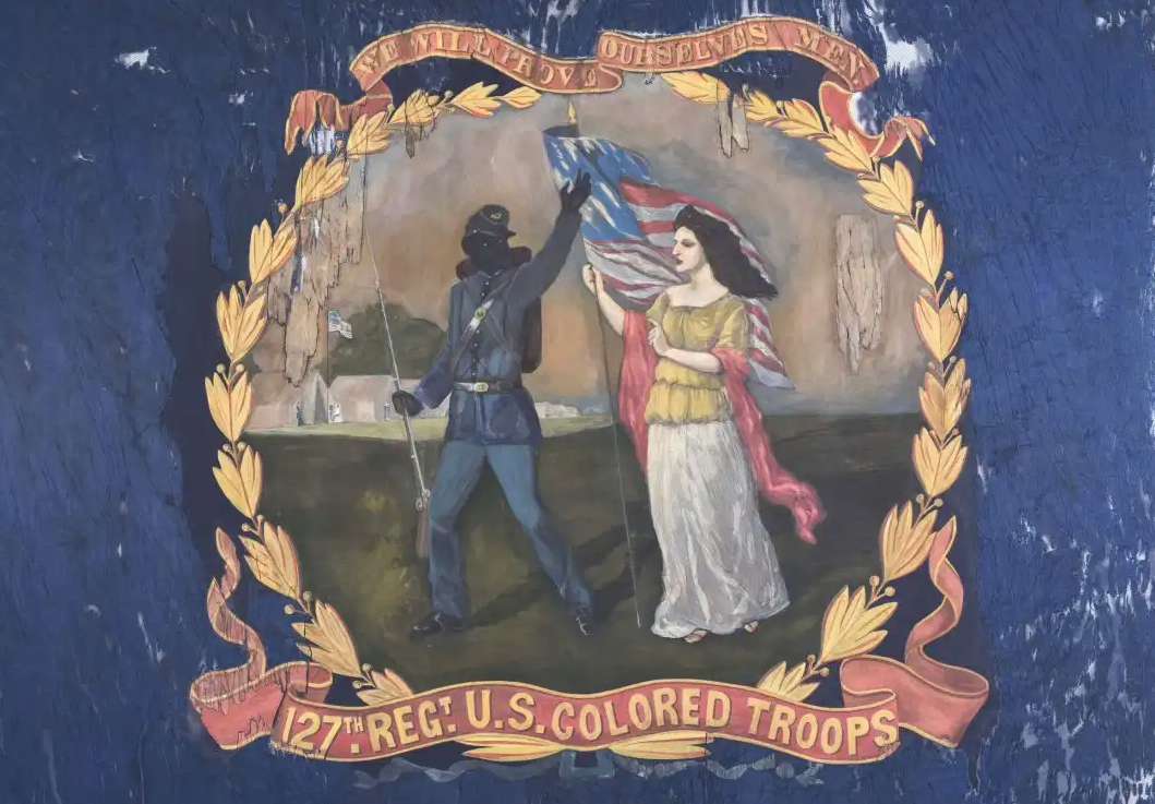 Rare Civil War Vestige Memorializes the Little-Known Story of African American Soldiers
