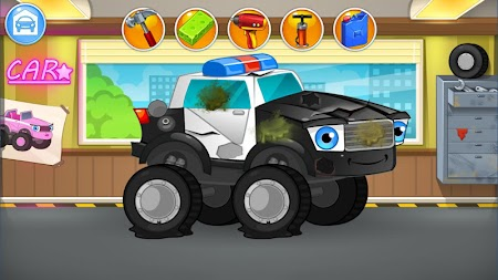 Repair machines - monster trucks APK screenshot thumbnail 8