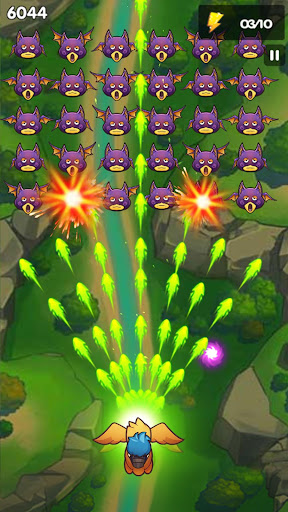 Code Triche Poultry Shoot Blast: Free Space Shooter mod apk screenshots 4