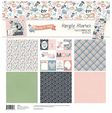 Simple Stories Simple Sets Collection Kit 12X12 - Mom´s Day UTGÅENDE