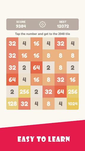 Tap 2048 - worldwide poplar game apkdebit screenshots 13