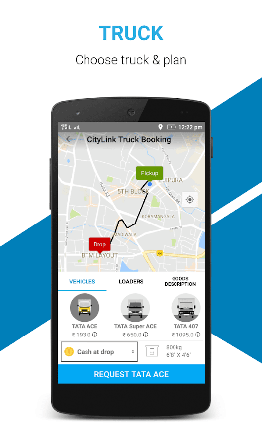 City Link-Bangalore Truck Hire- screenshot