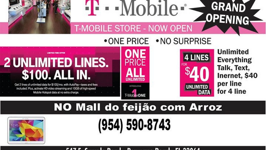 T Mobile Cell Phone Accessory Store In Pompano Beach