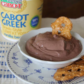 Greek Yogurt Chocolate Pudding.