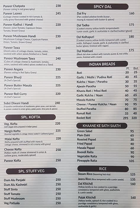 Gopala's Veg Kitchen menu 10