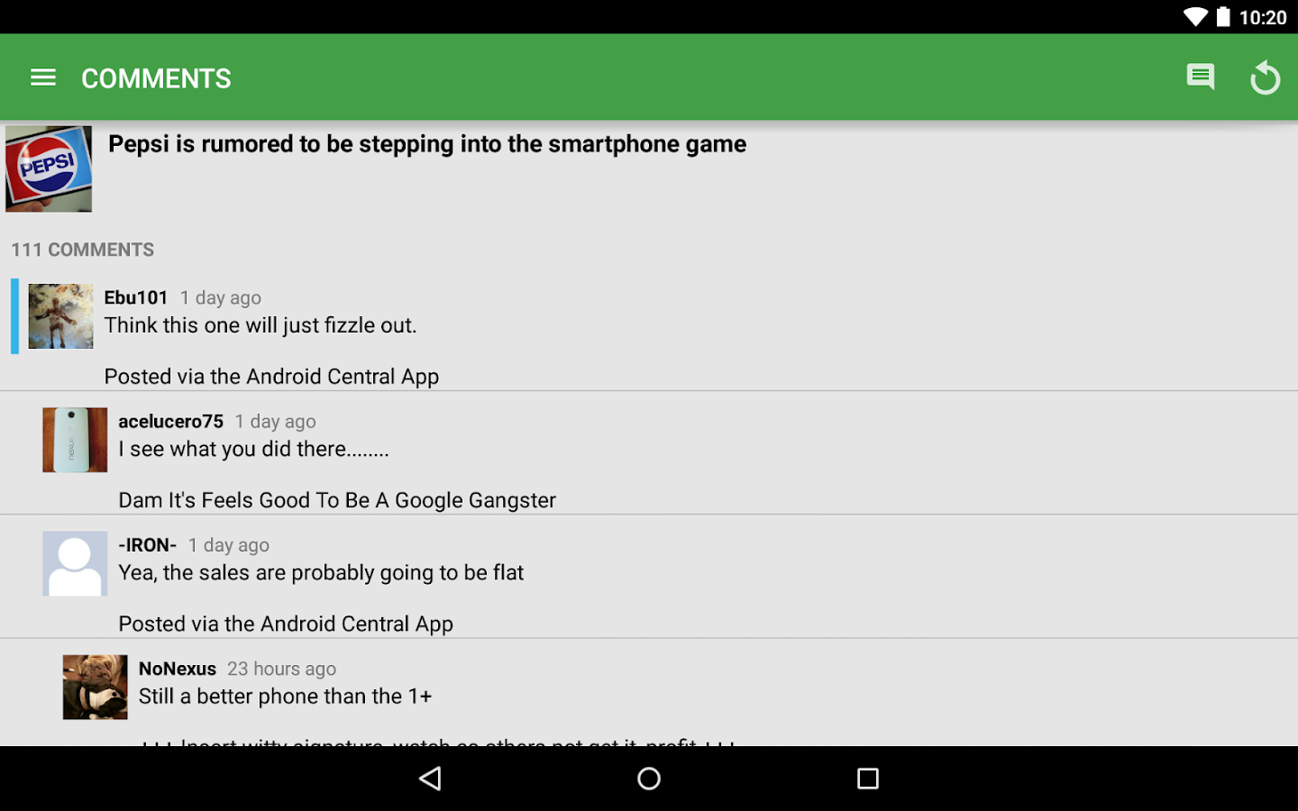 AC - Android News, Tips & Apps- screenshot
