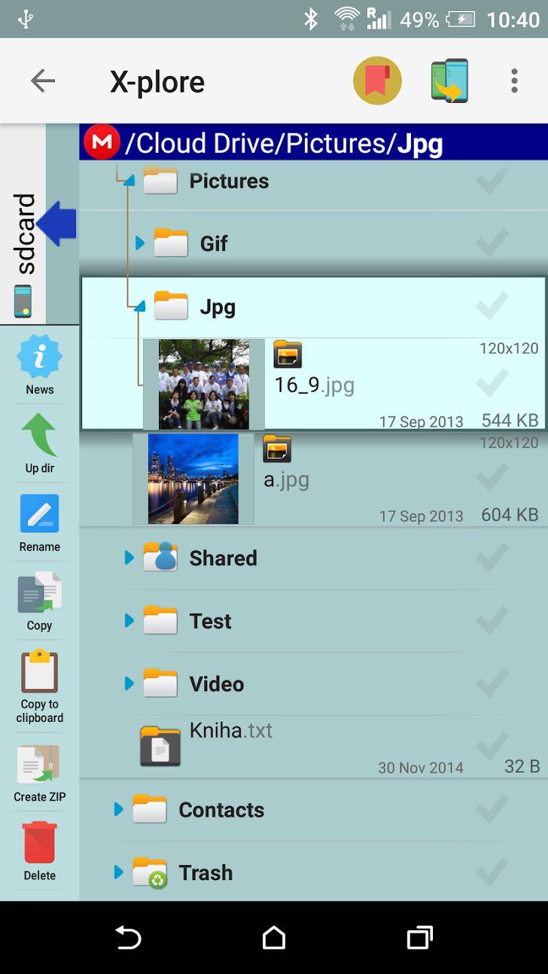 X-plore File Manager Screenshot 7
