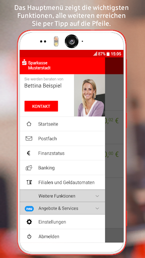 Sparkasse+ app (apk) free download for Android/PC/Windows screenshot