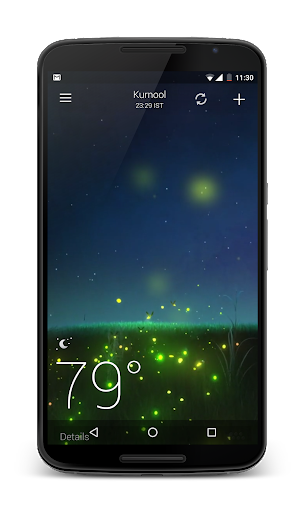 Sky weather screenshot