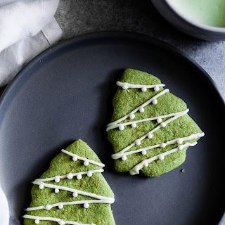 Gluten-Free White Chocolate Matcha Shortbread Cookies Recipe