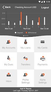 IBL Bank Mobile App - náhled