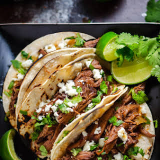 Slow Cooker Ancho Coffee Shredded Beef.